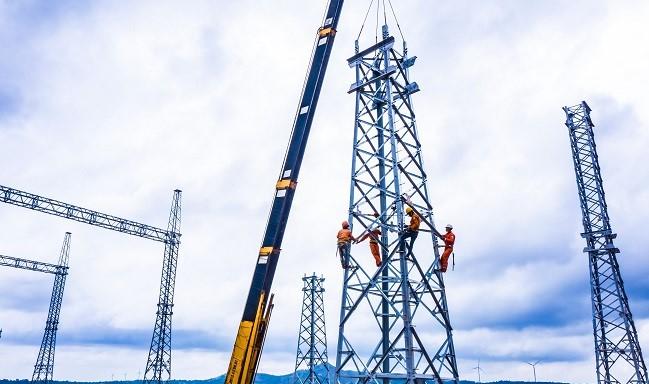 Siêu hành trình của các thiết bị siêu trường siêu trọng đến với dự án điện gió 6