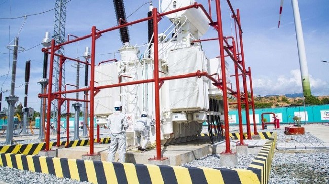 Trungnam Group đã hoàn thành vận hành thương mại toàn bộ 11 trụ của Dự án Điện gió số 5 - Ninh Thuận tại xã Phước Hữu, huyện Ninh Phước, tỉnh Ninh Thuận