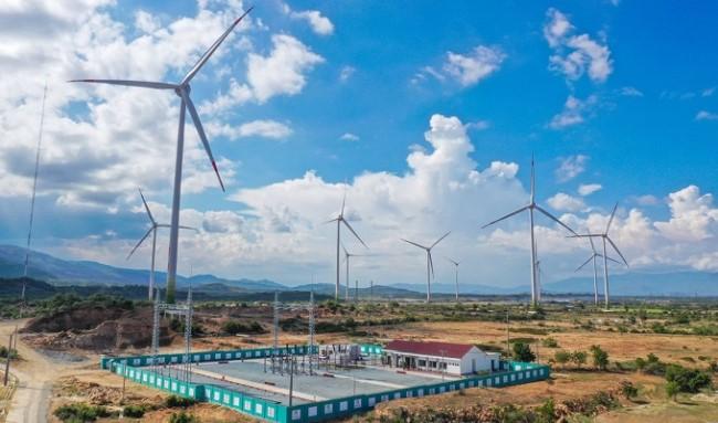 Trungnam Group cho biết việc vận hành thương mại Dự án Điện gió số 5 khẳng định năng lực triển khai dự án của Trung Nam trong bối cảnh khó khăn do dịch COVID-19