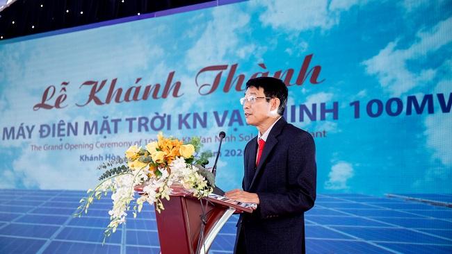 KN Vạn Ninh khánh thành dự án nhà máy điện mặt trời 1