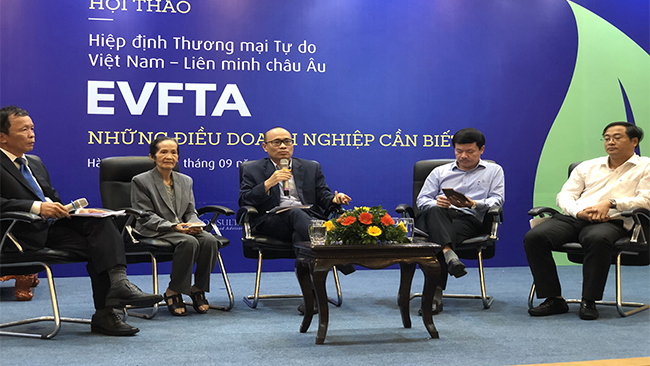 Việt Nam có đang 'hụt hơi' trước EVFTA?