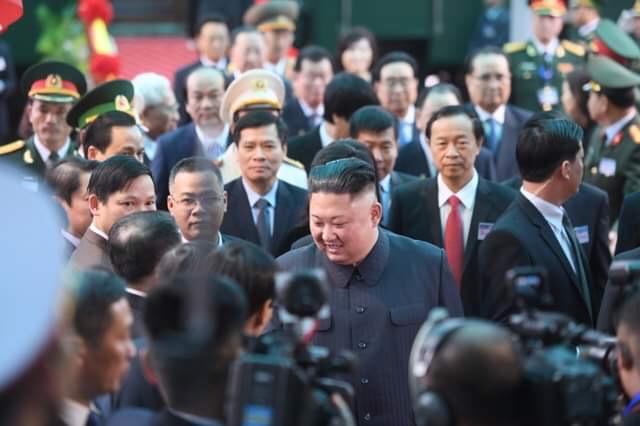 Những hình ảnh đầu tiên của Chủ tịch Triều Tiên Kim Jong-un tại Việt Nam 8
