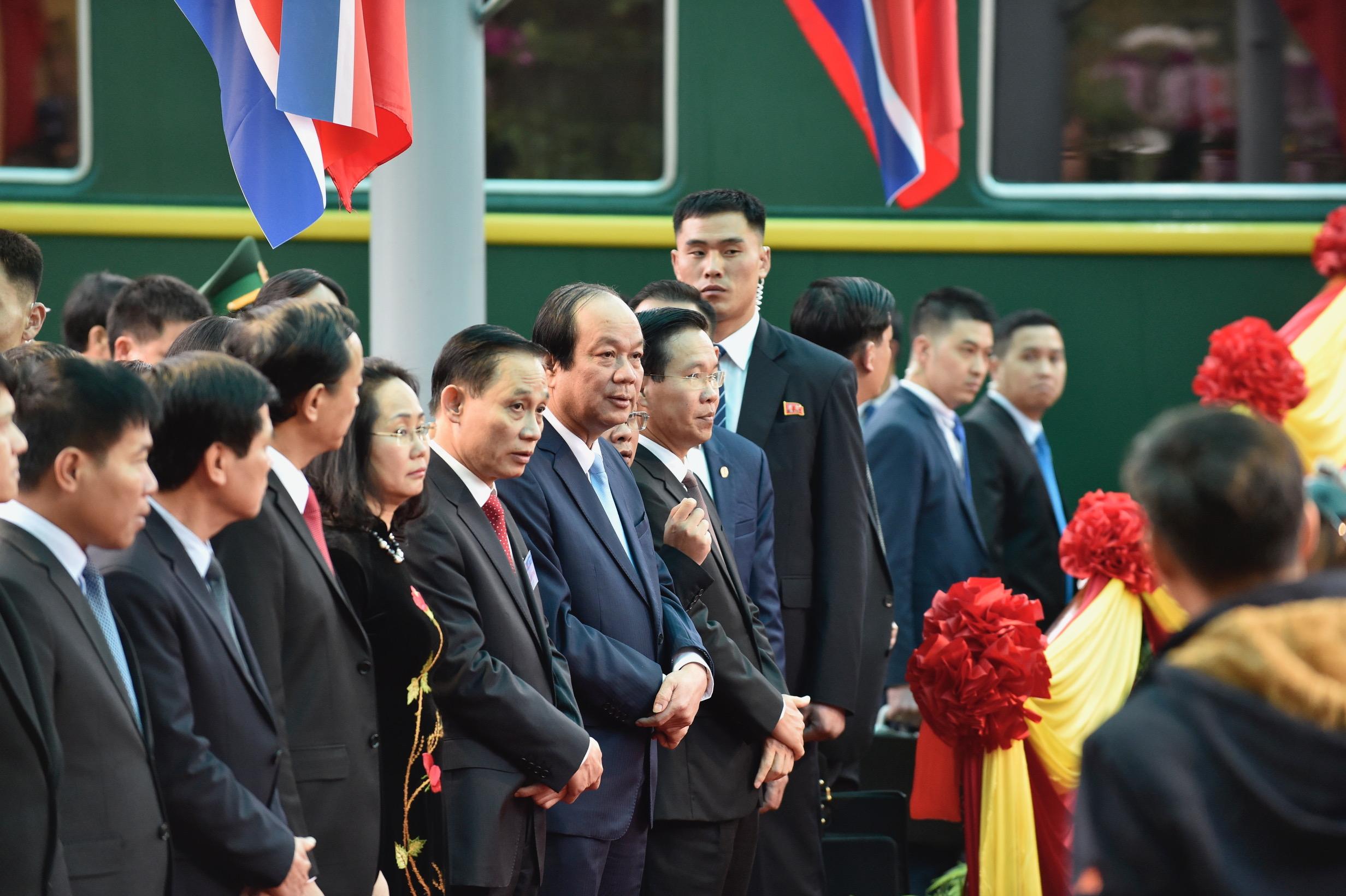 Những hình ảnh đầu tiên của Chủ tịch Triều Tiên Kim Jong-un tại Việt Nam 3