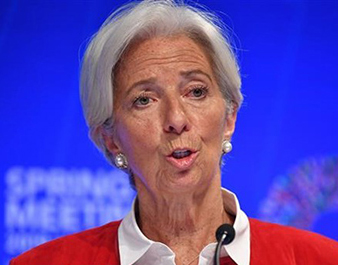 Bà Christine Lagarde