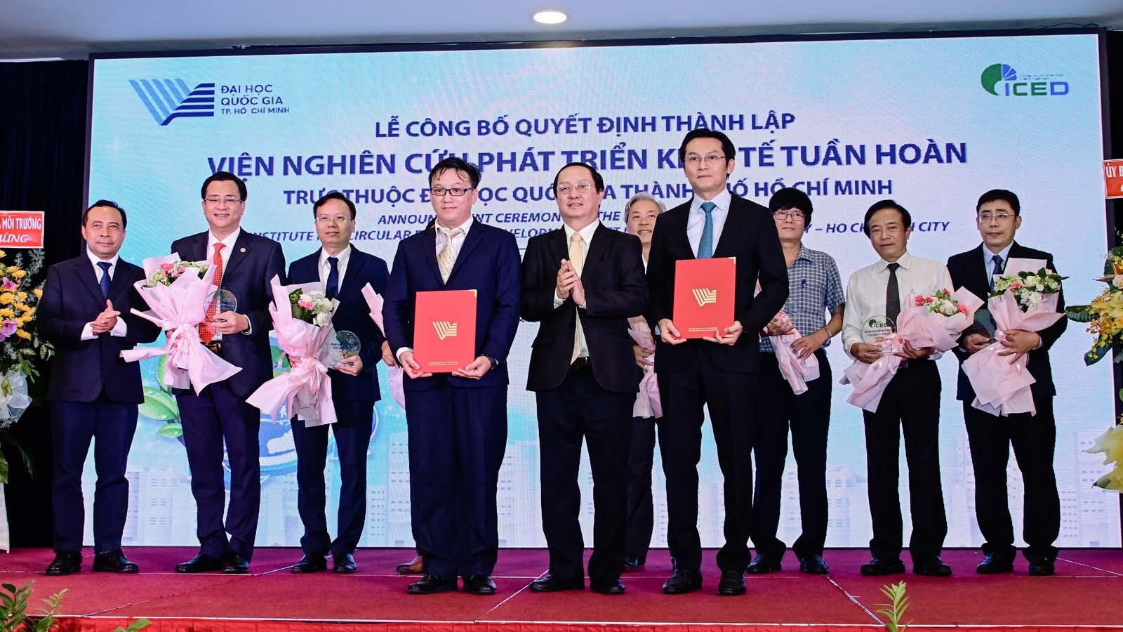 Ra mắt Viện Nghiên cứu phát triển Kinh tế tuần hoàn