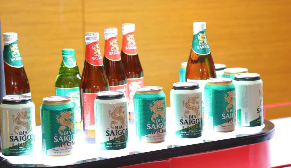 Bia Sài gòn lãi lớn trước thềm Nghị định 100