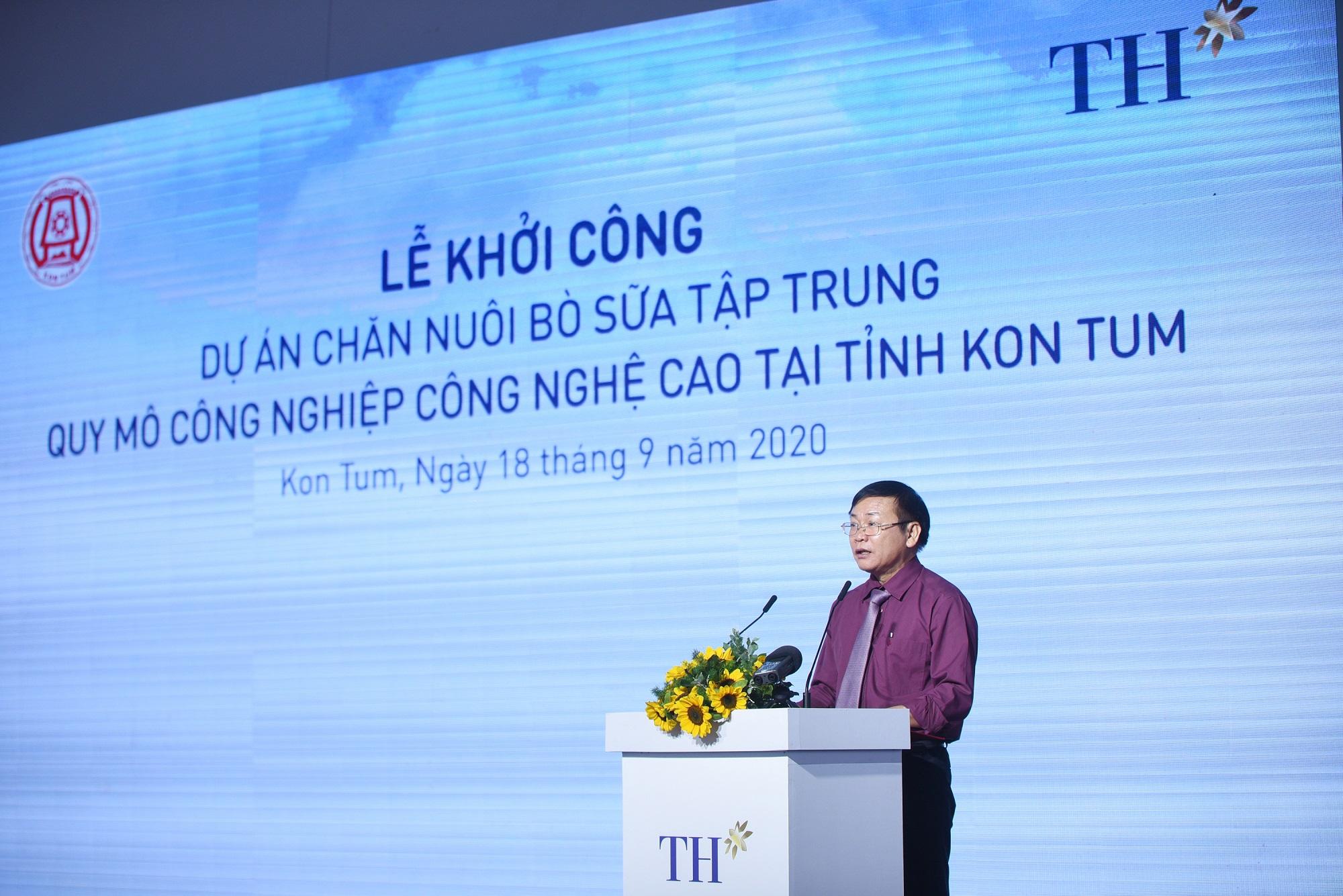 Tập đoàn TH khởi công Dự án chăn nuôi bò sữa công nghệ cao lớn nhất Tây Nguyên