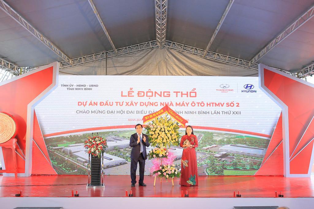 Tập đoàn Thành Công và Hyundai Motor động thổ dự án nhà máy Hyundai Thành Công số 2 tại Ninh Bình