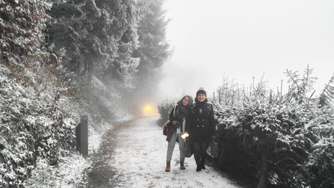 Cuộc phiêu lưu vào lòng tuyết 30