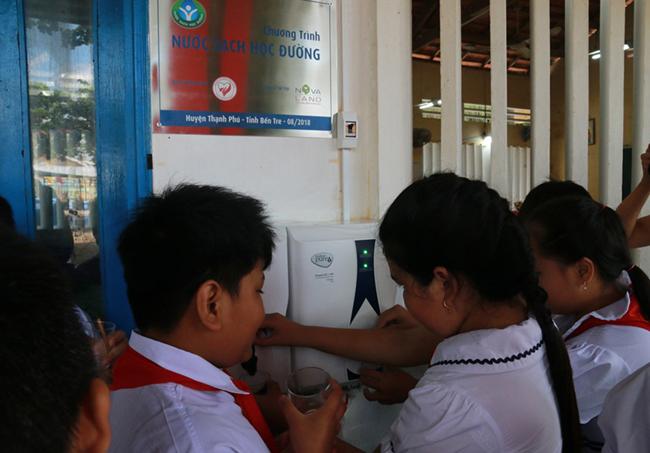 Đã giải được bài toán khó nước sạch học đường ở huyện Thạnh Phú – Bến Tre 1