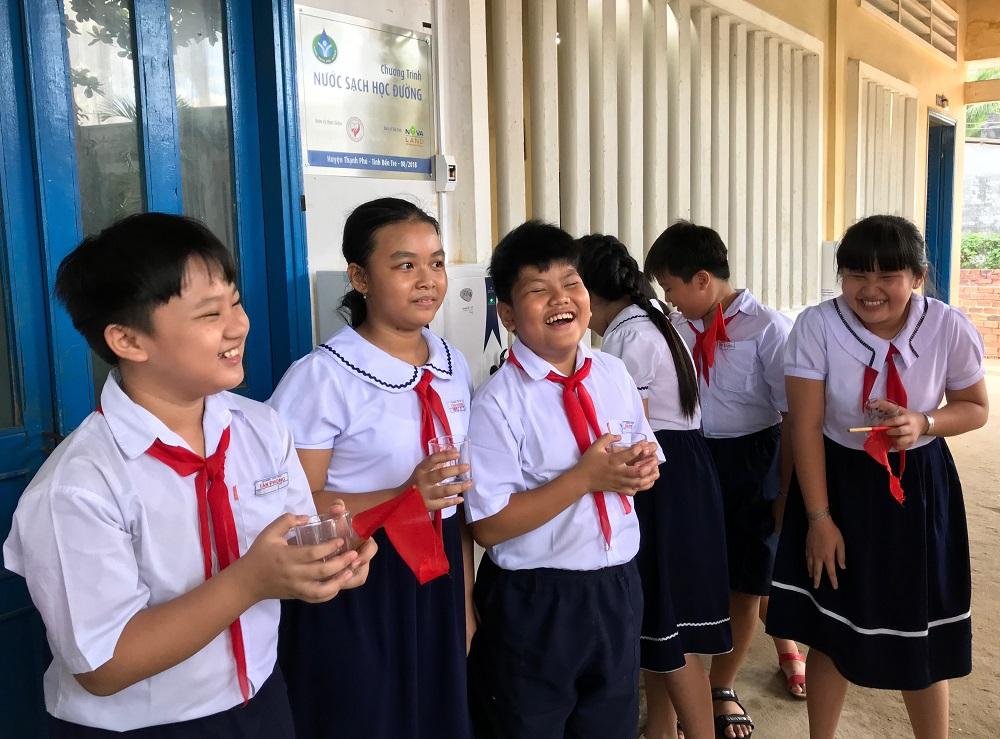 Đã giải được bài toán khó nước sạch học đường ở huyện Thạnh Phú – Bến Tre