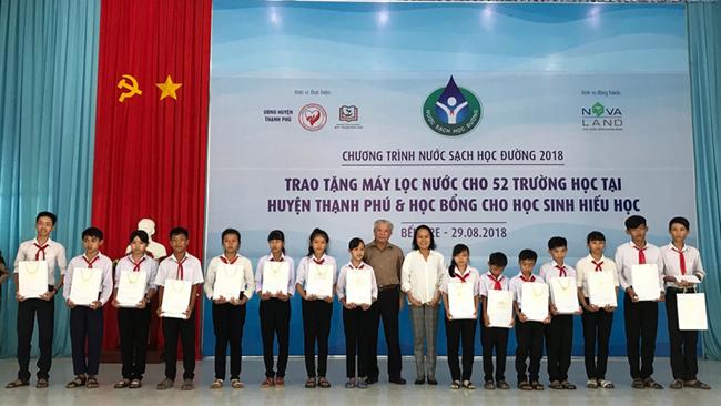 Đã giải được bài toán khó nước sạch học đường ở huyện Thạnh Phú – Bến Tre 3