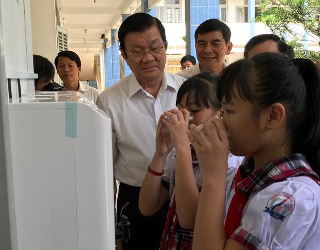 Đã giải được bài toán khó nước sạch học đường ở huyện Thạnh Phú – Bến Tre 2