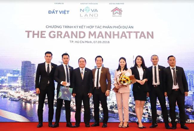 Ai là đại lý phân phối chính thức Dự án căn hộ cao cấp 5 sao nằm ở vị trí đắc địa tại quận 1, The Grand Manhattan?