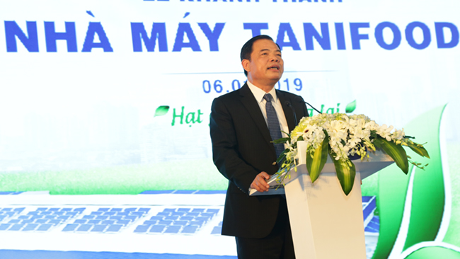 Khánh thành nhà máy chế biến rau củ quả lớn nhất Việt Nam 1
