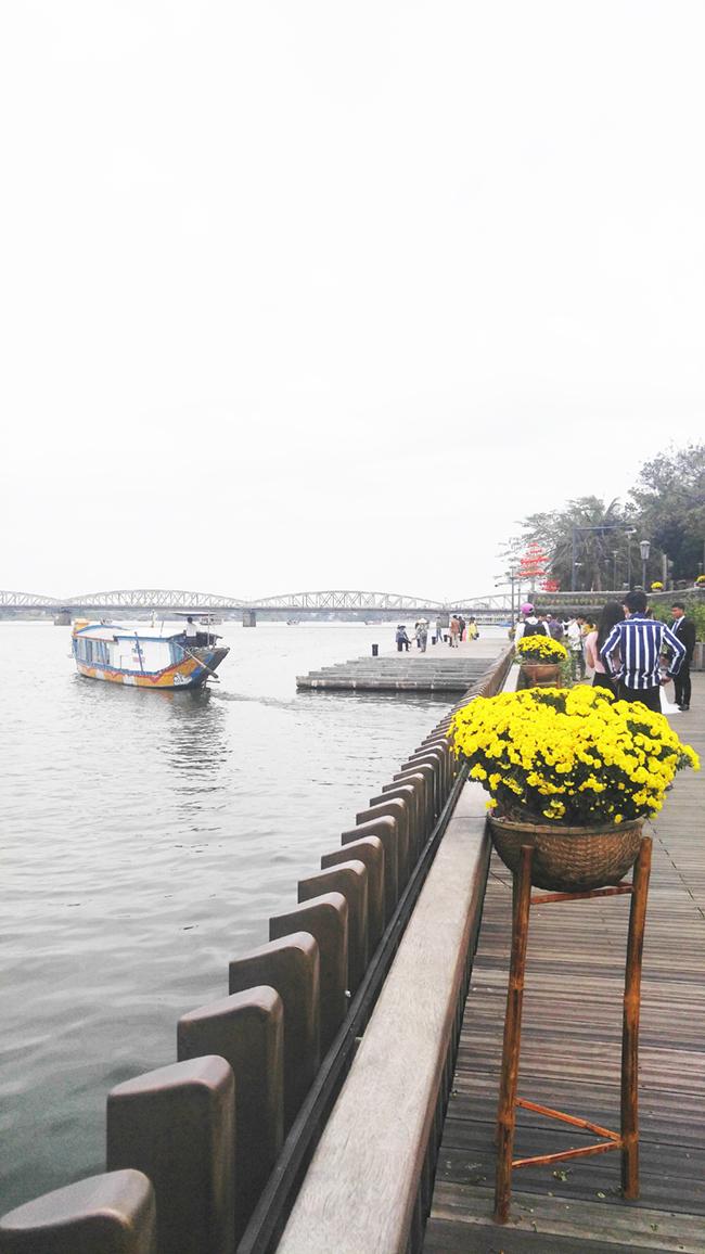 Cầu gỗ lim tiền tỷ trên sông Hương – địa điểm check-in hot nhất Tết 2019 ở Huế 14