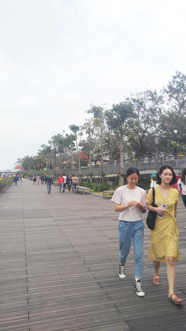 Cầu gỗ lim tiền tỷ trên sông Hương – địa điểm check-in hot nhất Tết 2019 ở Huế 12