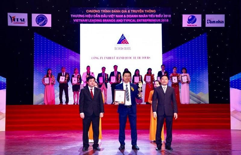 Hai doanh nghiệp Khánh Hoà được vinh danh Thương hiệu dẫn đầu Việt Nam và Doanh nhân tiêu biểu 2018 1