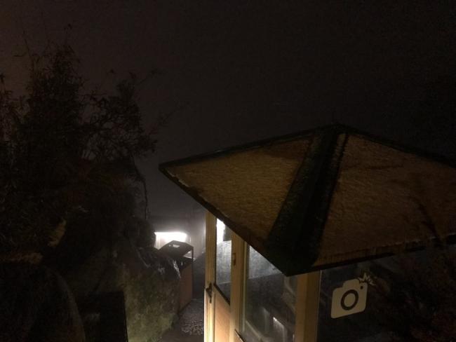 Fansipan bất ngờ xuất hiện mưa băng đẹp ngỡ ngàng 7