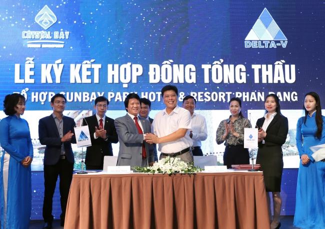 Crystal Bay bắt tay với các đối tác triển khai dự án SunBay Park Hotel & Resort