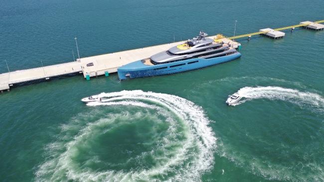 Siêu du thuyền 150 triệu USD của ông chủ CLB Tottenham tại vịnh Hạ Long 7