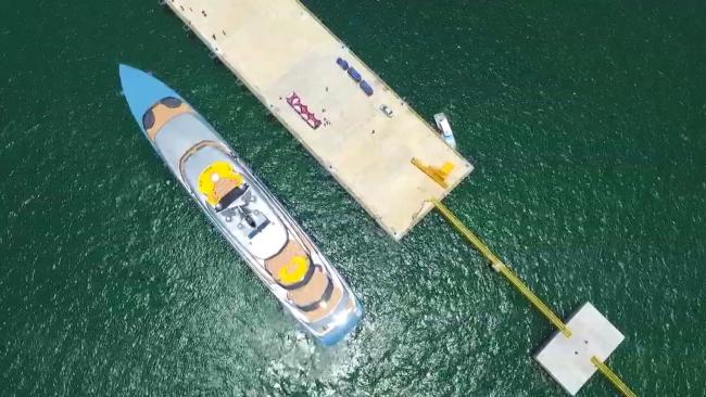 Siêu du thuyền 150 triệu USD của ông chủ CLB Tottenham tại vịnh Hạ Long 1