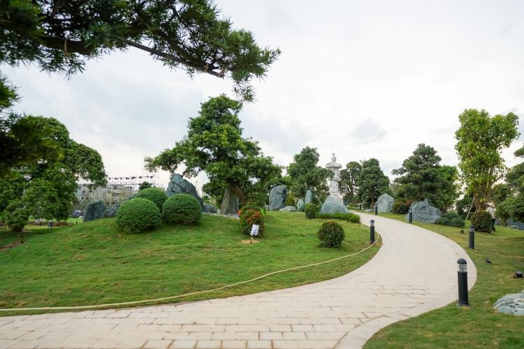 Chiêm nghưỡng khu Vườn Nhật hơn 6ha tại Vinhomes Smart City
