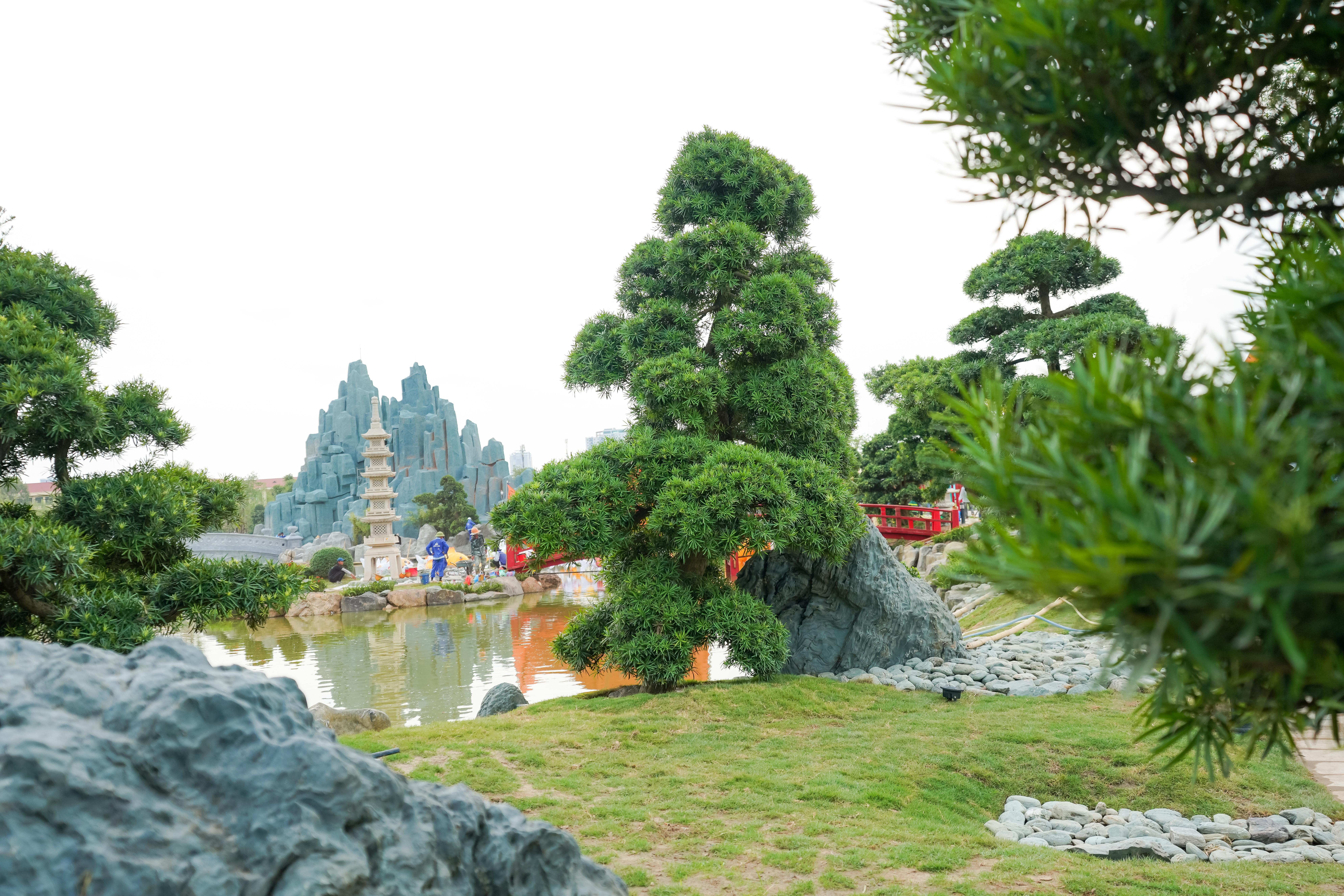 Chiêm nghưỡng khu Vườn Nhật hơn 6ha tại Vinhomes Smart City 1