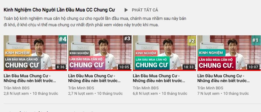 Đầu tư bất động sản hiệu quả với kênh youtube Trần Minh BĐS 2