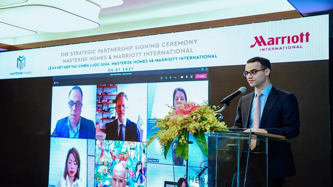 Marriott International và Masterise Homes xây dựng khu bất động sản hàng hiệu tại Việt Nam 2