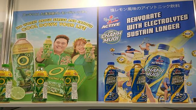 Thương hiệu nước giải khát Việt Nam xuất hiện nổi bật tại Foodex Japan 2021 1