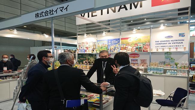 Thương hiệu nước giải khát Việt Nam xuất hiện nổi bật tại Foodex Japan 2021 3