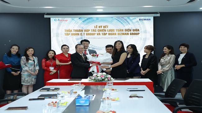 C.T Group VÀ Bizman ký kết hợp tác chiến lược