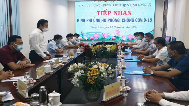 Trần Anh Group ủng hộ 1 tỷ đồng phòng, chống Covid-19