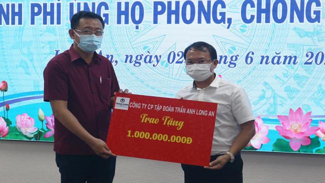 Trần Anh Group ủng hộ 1 tỷ đồng phòng, chống Covid-19 1