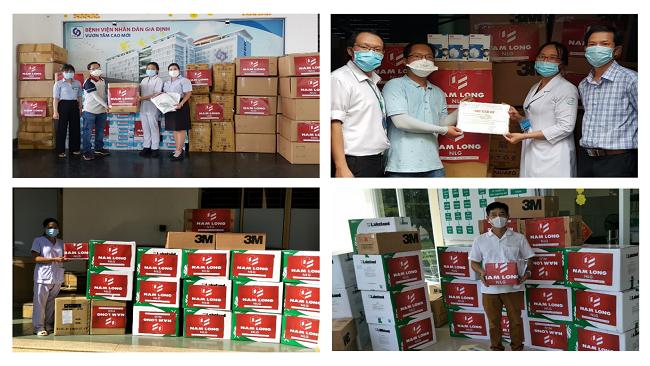 Tập đoàn Nam Long tích cực tham gia hỗ trợ cộng đồng phòng, chống COVID-19