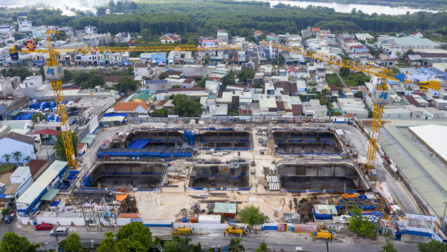 Tập đoàn Xây dựng Hòa Bình đã trúng thầu nhiều dự án mới