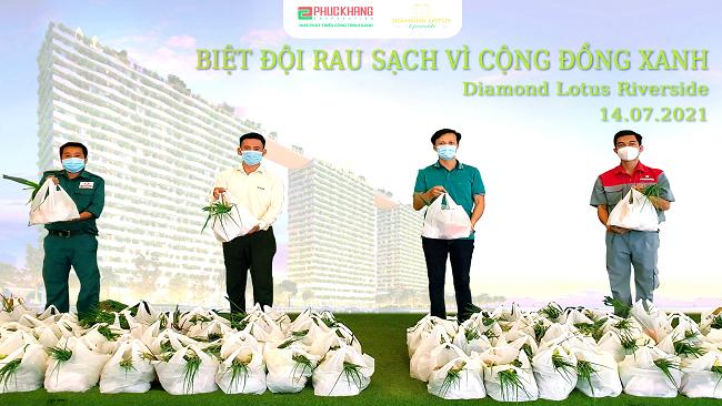 """Phuc Khang Corporation - Triển khai chương trình """"Rau sạch yêu thương – Kiên cường chống dịch"""""""
