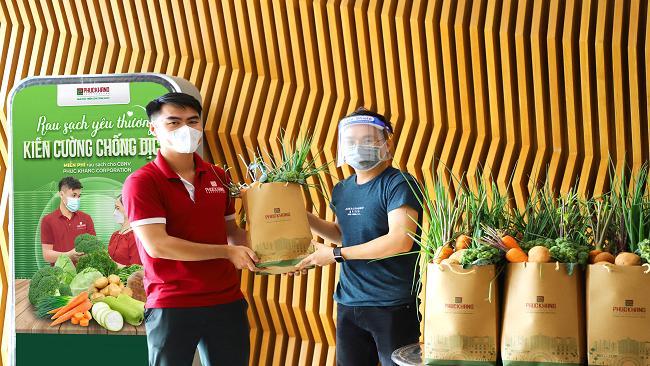"""Phuc Khang Corporation - Triển khai chương trình """"Rau sạch yêu thương – Kiên cường chống dịch"""" 2"""