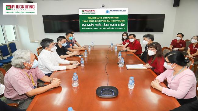 Phuc Khang Corporation đồng hành cùng lực lượng tuyến đầu chống dịch Covid 1