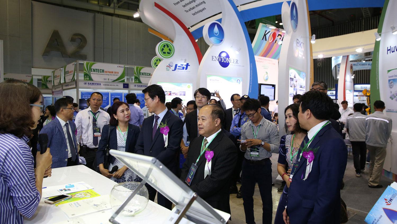 Triển lãm quốc tế về công nghệ môi trường, năng lượng và sản phẩm sinh thái lần thứ 11