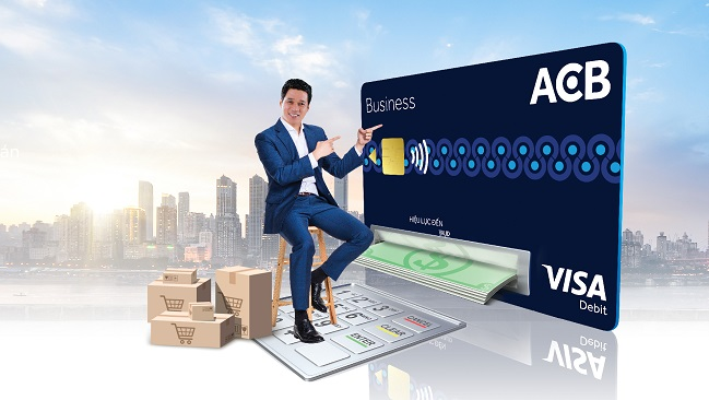 ACB ra mắt thẻ ghi nợ doanh nghiệp ACB Visa Business Debit