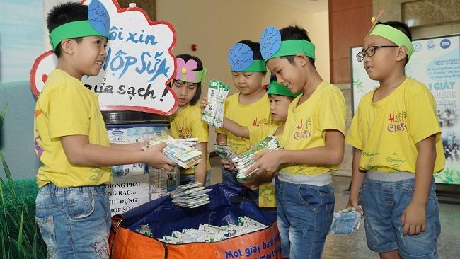 Tetra Pak mở rộng chương trình tái chế học đường tại Hà Nội 1