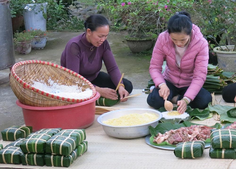Đời sau của hạt gạo sinh lại trong bánh dân gian 2