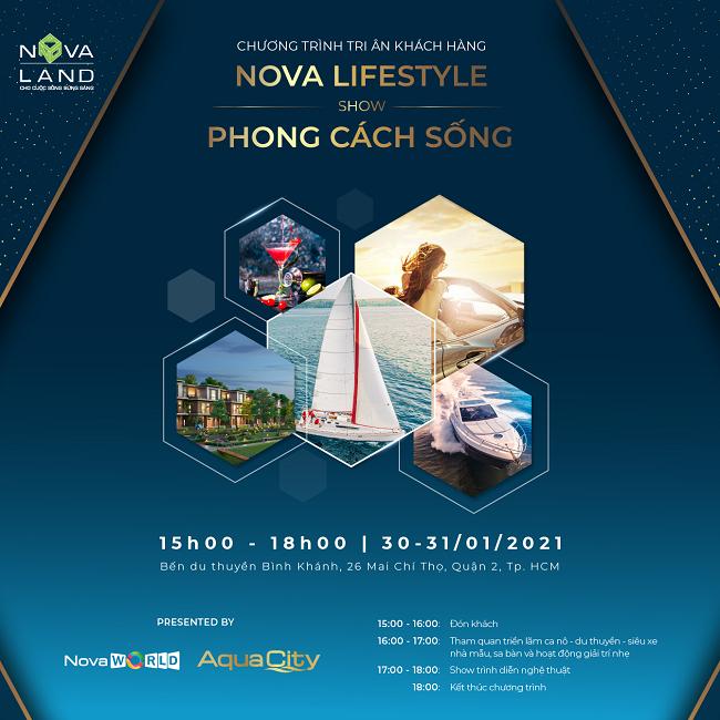 Nova Lifestyle – Nơi trải nghiệm không gian sống độc đáo bên bến du thuyền
