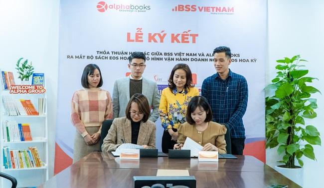 BSS Việt Nam ký hợp tác chiến lược với Alpha Books