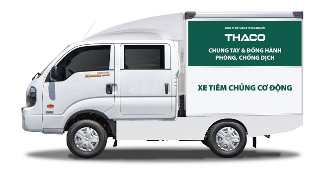Thaco tặng vật tư và phương tiện y tế cho TP. Hà Nội