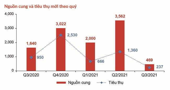 Bất động sản nhà ở TP.HCM và vùng phụ cận sụt giảm nhiều phân khúc 1