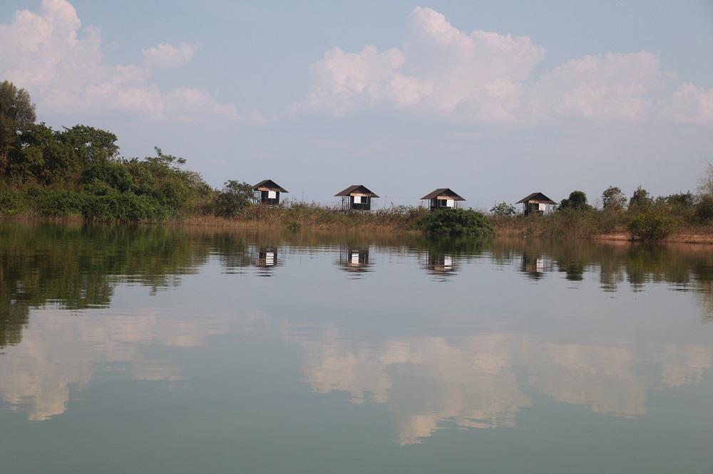 Đảo Cao Minh ở hồ Trị An 3