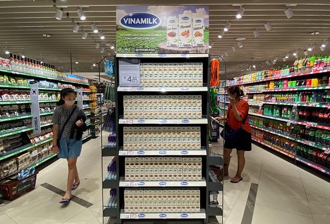 Vinamilk tấn công thị trường Singapore với dòng sản phẩm cao cấp 2
